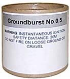 Ground Maroon - Groundburst 0.5
