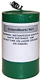 Ground Maroon - Groundburst no.1